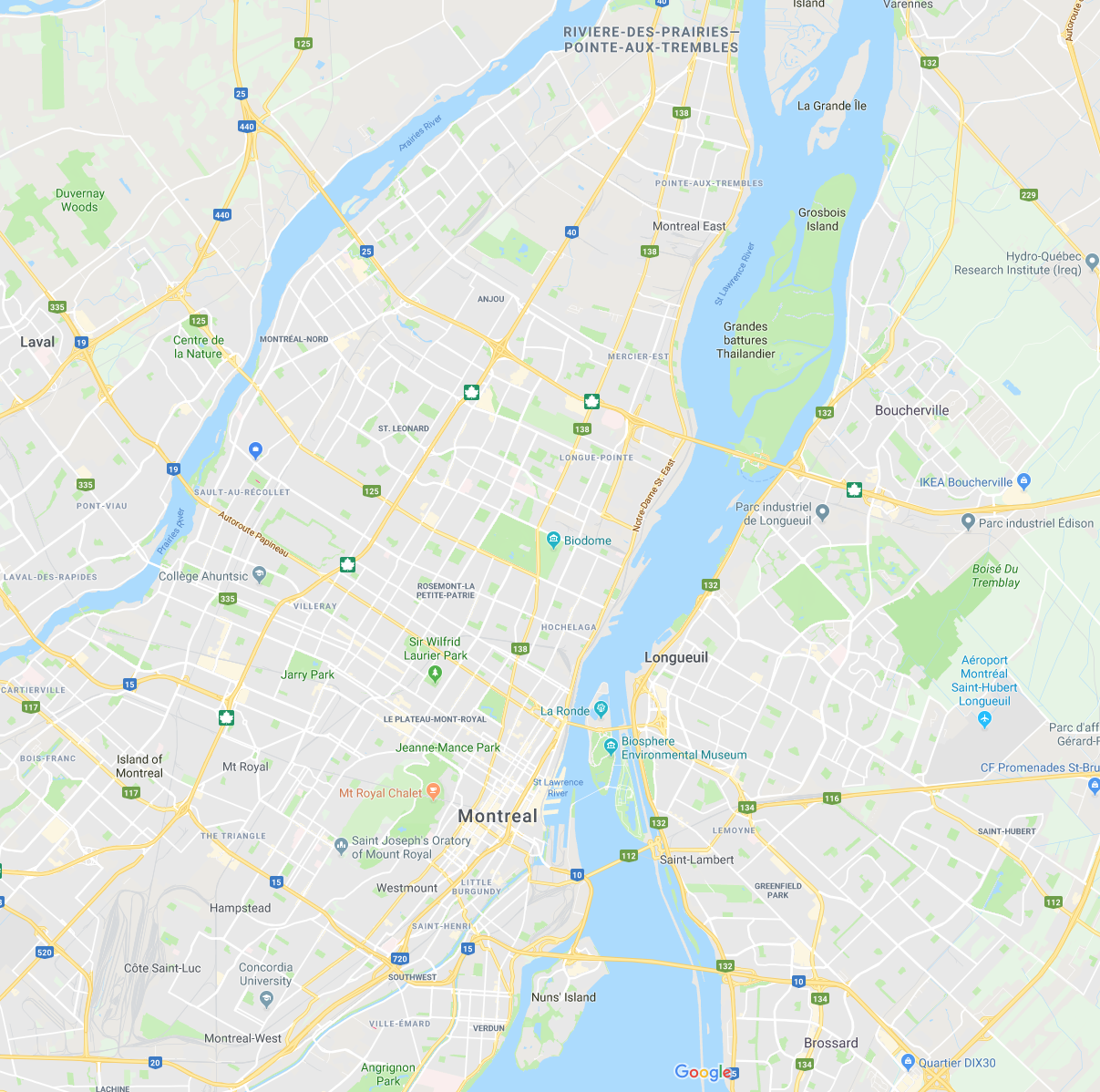 zones desservies Grand Montreal Exterminateurs Associés